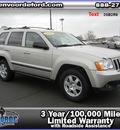 jeep grand cherokee 2008 silver suv laredo gasoline 6 cylinders 4 wheel drive automatic 56301