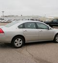 chevrolet impala 2008 silver sedan lt gasoline 6 cylinders front wheel drive automatic 55318