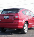 dodge caliber 2010 dk  red hatchback sxt gasoline 4 cylinders front wheel drive automatic 61832