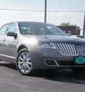 lincoln mkz 2010 gray sedan s gasoline 6 cylinders front wheel drive shiftable automatic 61832