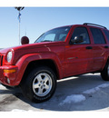jeep liberty 2002 red suv limited gasoline v6 4 wheel drive 4 speed automatic 47129