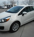 kia rio 2012 white sedan lx gasoline 4 cylinders front wheel drive not specified 43228