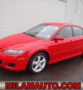 mazda mazda6 2007 red hatchback s sport value edition gasoline 6 cylinders front wheel drive automatic 98371