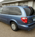 chrysler town and country 2007 blue van lx w sirius gasoline 6 cylinders front wheel drive automatic 55016