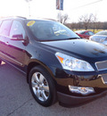 chevrolet traverse 2009 black suv ltz gasoline 6 cylinders all whee drive automatic 60007
