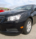 chevrolet cruze 2012 black sedan lt gasoline 4 cylinders front wheel drive automatic 60007