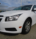 chevrolet cruze 2012 white sedan lt gasoline 4 cylinders front wheel drive automatic 60007