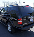 ford explorer 2010 black suv xlt gasoline 6 cylinders 4 wheel drive automatic 08753
