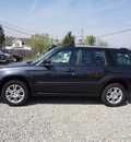 subaru forester 2008 dk  gray suv sports 2 5 x gasoline 4 cylinders all whee drive automatic 45324