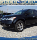 nissan murano 2003 black suv sl gasoline 6 cylinders all whee drive automatic 45324