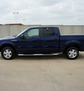 ford f 150 2010 dk  blue xlt gasoline 8 cylinders 2 wheel drive automatic 76108
