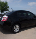 nissan sentra 2012 black sedan gasoline 4 cylinders front wheel drive automatic with overdrive 76018