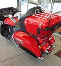 harley davidson flhtk 2010 red elect gld ultra ltd 2 cylinders 5 speed 45342