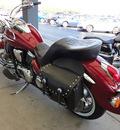 kawasaki vn900 2007 maroon vulcan 900 2 cylinders 5 speed 45342