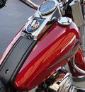 harley davidson flstc 1999 maroon heritage softail classic 2 cylinders 5 speed 45342