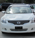 nissan altima 2010 white sedan sl gasoline 4 cylinders front wheel drive automatic 33884