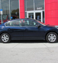 nissan altima 2011 navy blue sedan sl gasoline 4 cylinders front wheel drive automatic 33884