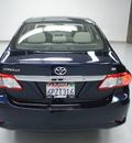 toyota corolla 2011 blue sedan le gasoline 4 cylinders front wheel drive automatic 91731