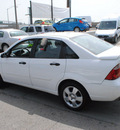 ford focus 2006 white sedan zx4 ses gasoline 4 cylinders front wheel drive automatic 91010