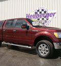 ford f 150 2010 red candy xlt flex fuel 8 cylinders 4 wheel drive automatic 80905
