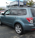 subaru forester 2009 lt  green suv 2 5 x gasoline 4 cylinders all whee drive automatic 94063