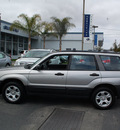 subaru forester 2005 silver suv x gasoline 4 cylinders all whee drive automatic 94063