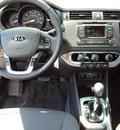 kia rio 2012 white sedan ex gasoline 4 cylinders front wheel drive automatic 32901