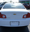 chevrolet malibu 2011 white sedan ls fleet gasoline 4 cylinders front wheel drive automatic 19153