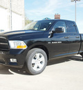 ram ram pickup 1500 2012 black st gasoline 8 cylinders 4 wheel drive automatic 80301