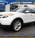 ford explorer 2013 white suv limited flex fuel 6 cylinders 2 wheel drive automatic 32401