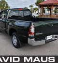 toyota tacoma 2012 green gasoline 4 cylinders 2 wheel drive automatic 32771