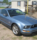 ford mustang 2006 blue coupe v6 deluxe gasoline 6 cylinders rear wheel drive automatic 77379