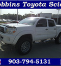 toyota tacoma 2006 white v6 gasoline 6 cylinders 4 wheel drive automatic 75503