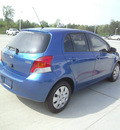 toyota yaris 2009 blue hatchback gasoline 4 cylinders front wheel drive automatic 75503