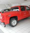 chevrolet silverado 1500 2011 red ltz z71 flex fuel 8 cylinders 4 wheel drive automatic with overdrive 55391