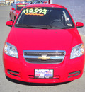 chevrolet aveo 2010 red sedan gasoline 4 cylinders front wheel drive automatic 79925