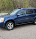 chevrolet equinox 2009 dk  blue suv lt gasoline 6 cylinders front wheel drive automatic 55318