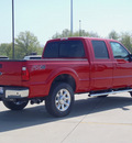 ford f 250 super duty 2012 red lariat biodiesel 8 cylinders 4 wheel drive automatic 62708