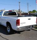 dodge ram pickup 1500 2003 white pickup truck st gasoline 8 cylinders rear wheel drive automatic 27591
