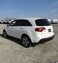 acura mdx 2012 white suv tech awd gasoline 6 cylinders all whee drive automatic with overdrive 60462