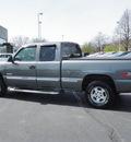 chevrolet silverado 1500 1999 gray ls z1 gasoline v8 4 wheel drive automatic 55124