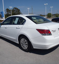 honda accord 2010 white sedan lx gasoline 4 cylinders front wheel drive automatic 28557