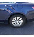 honda accord 2010 royal blue sedan lx gasoline 4 cylinders front wheel drive automatic 08750