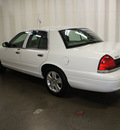 ford crown victoria 2011 white sedan lx flex fuel 8 cylinders rear wheel drive automatic with overdrive 76108