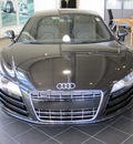 audi r8 2011 black coupe 5 2 quattro gasoline 10 cylinders all whee drive 6 speed manual 46410