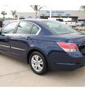 honda accord 2010 blue sedan lx p gasoline 4 cylinders front wheel drive automatic 77065