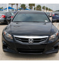 honda accord 2011 black coupe ex l gasoline 4 cylinders front wheel drive automatic 77065