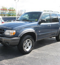 ford explorer 2000 blue suv xlt gasoline v6 4 wheel drive automatic with overdrive 45840