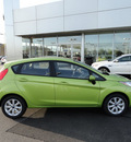 ford fiesta 2012 lt  green hatchback se gasoline 4 cylinders front wheel drive automatic with overdrive 60546