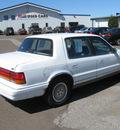 chrysler le baron 1994 white sedan gasoline v6 front wheel drive automatic 55811
